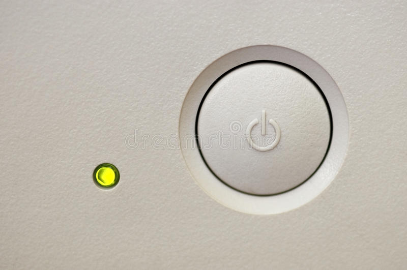Switch button royalty free stock images