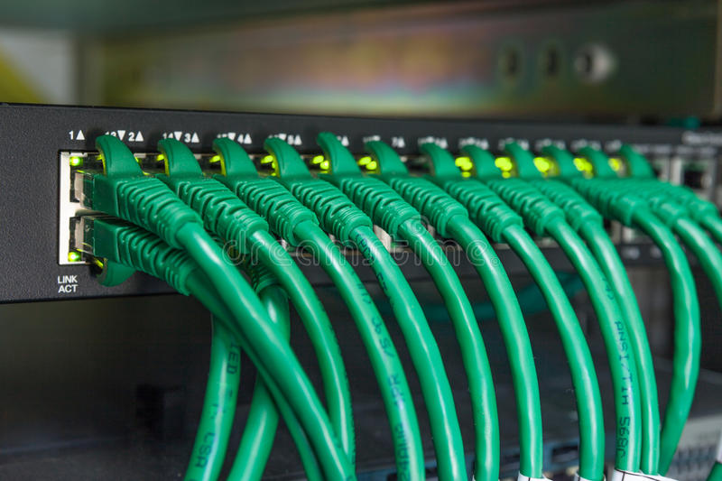 Switch connect to the world telecommunication. Switch connect to the world internet stock photos