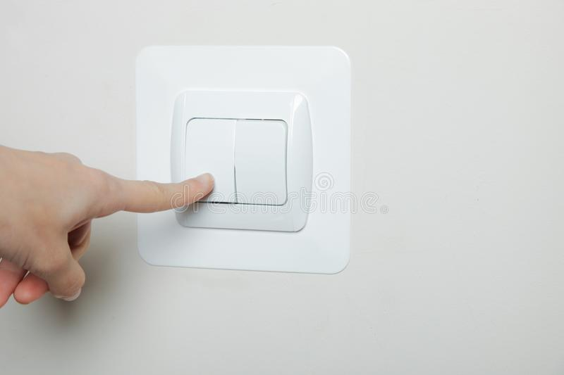 Download Switch off the light stock photo. Image of turn, wall - 102844962