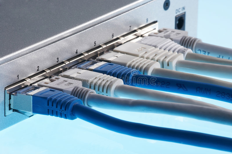 Download Switch Plugged Stock Photography - Image: 512732