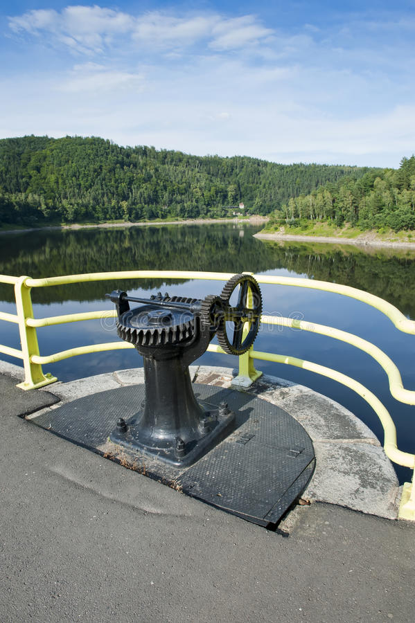 Download Switch of the water gate stock image. Image of generate - 26422013