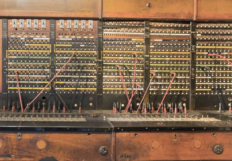 Switchboard zdjęcia royalty free