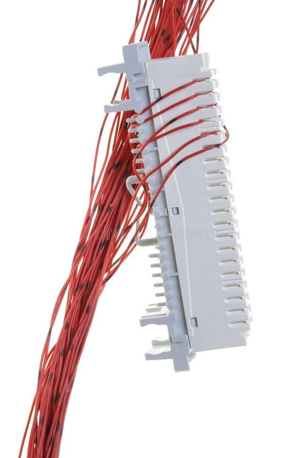 Switchboard telefoniczny panel obraz stock