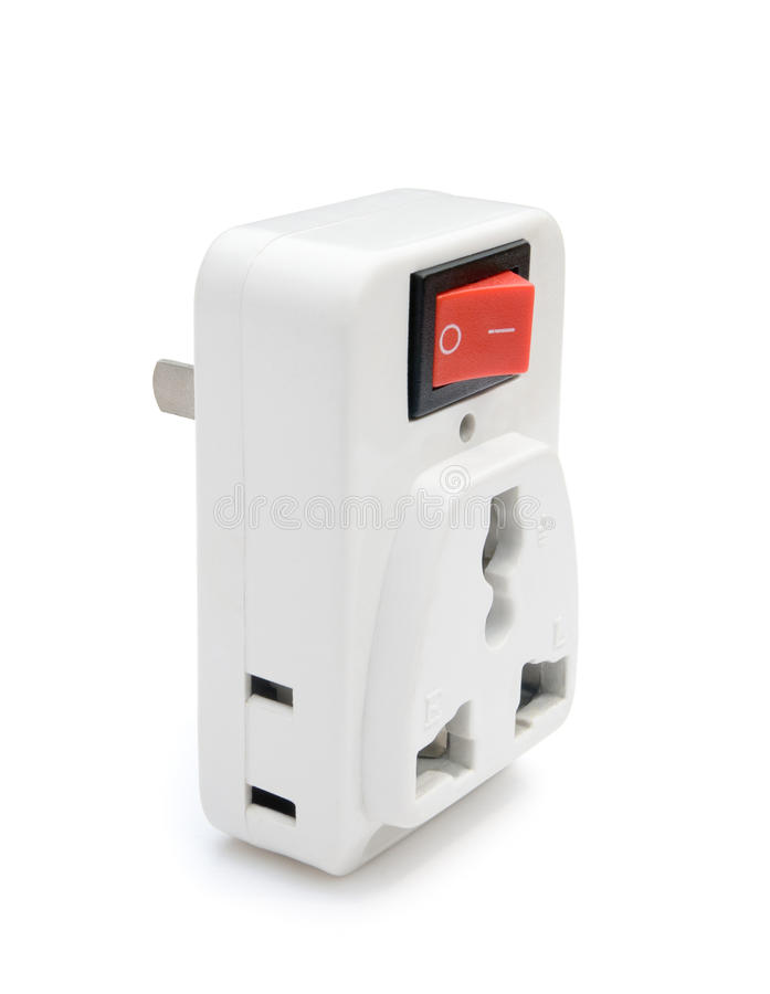 Download Switched universal adapter stock image. Image of connected - 24505231