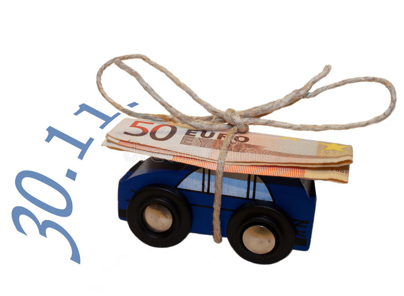 Switching to a new car insurance. Until November, 30 can save money in Germany stock image