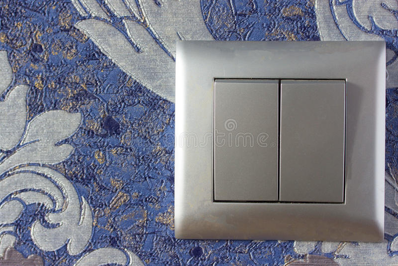 Swith argenté de lumière de couleur images stock