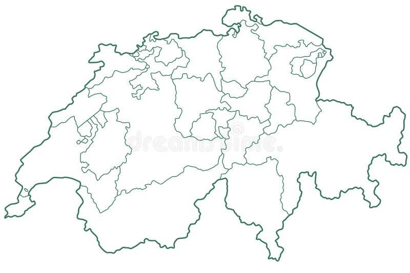 switzerland vektor illustrationer