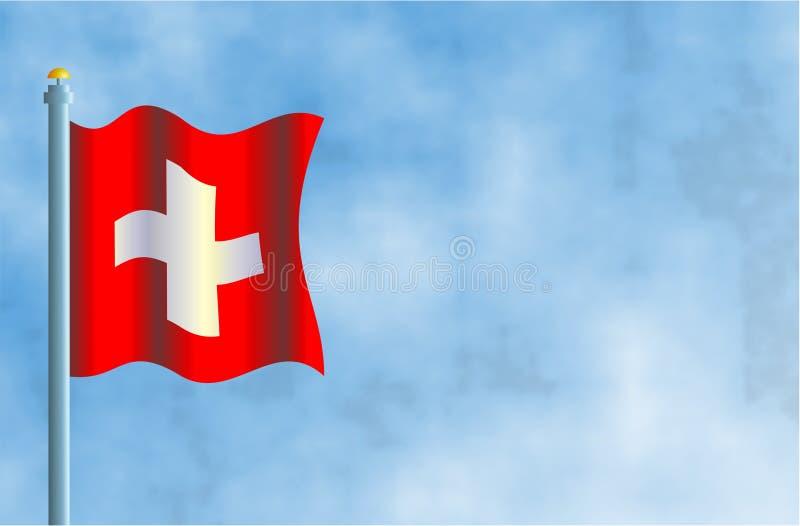 Download Switzerland ilustração stock. Ilustração de flagpoles, naturalizado - 67460