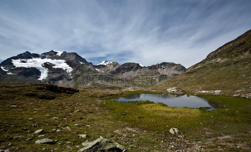 Switzerland alpino imagem de stock royalty free