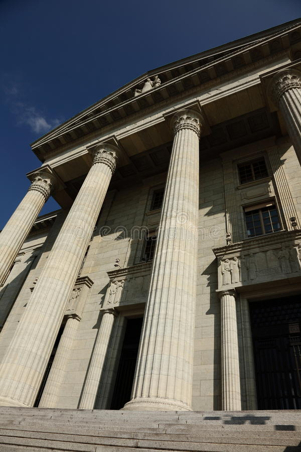 Download Switzerland Federal Court Building Stock Photography - Image: 13487552