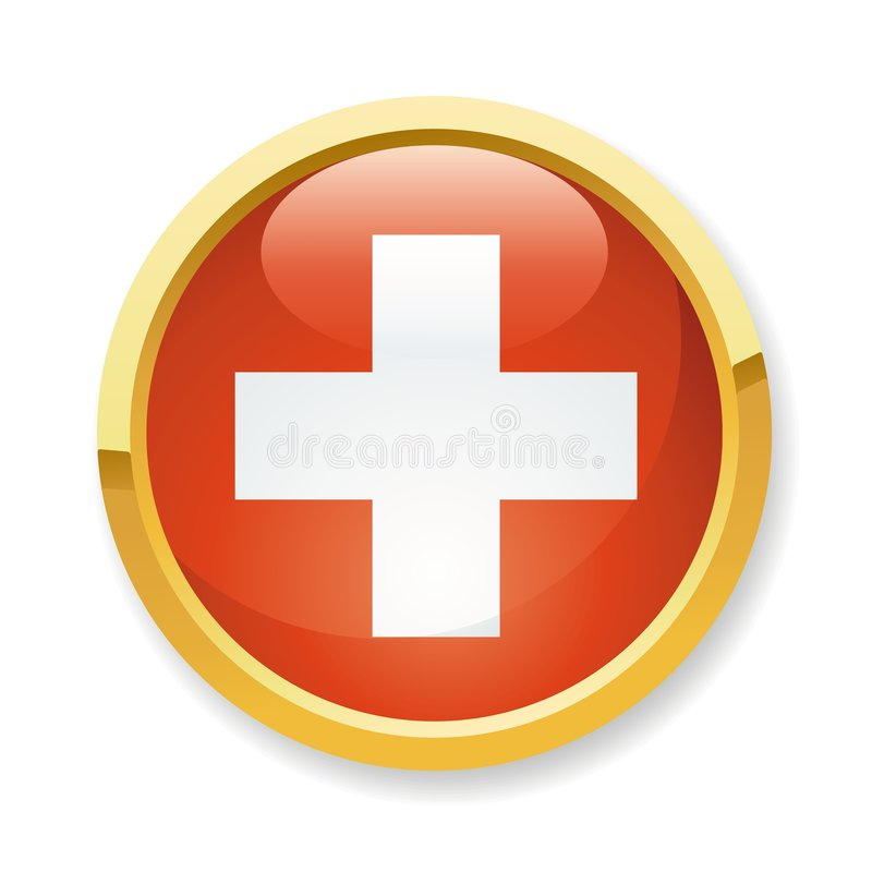 Download Switzerland flag button stock vector. Image of emoticon - 7887516