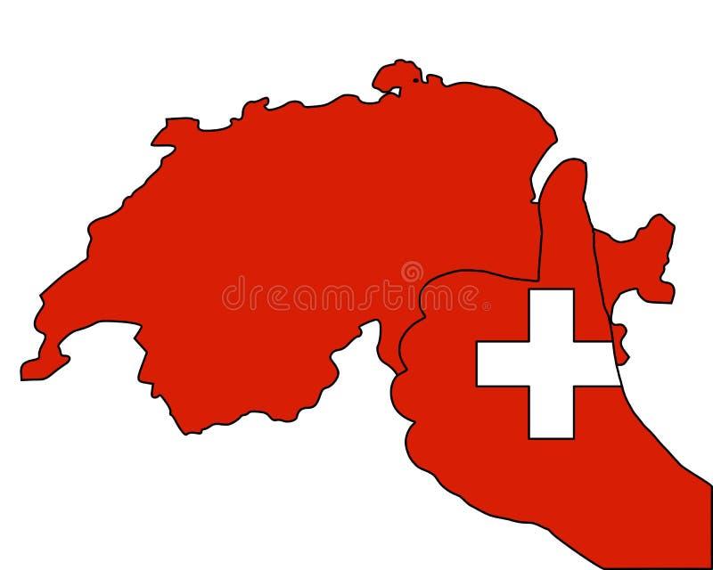 Download Switzerland hand signal stock illustration. Illustration of super - 26322459