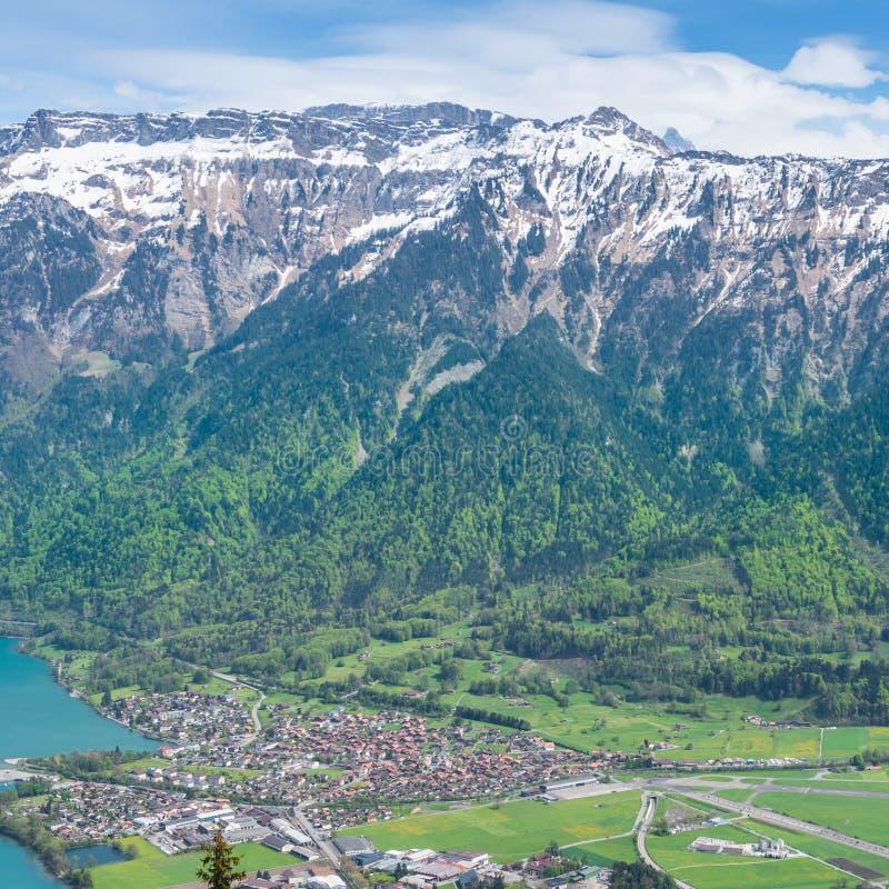 switzerland Interlaken fotografia stock libera da diritti