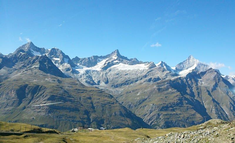 Switzerland mountain royalty free stock photo