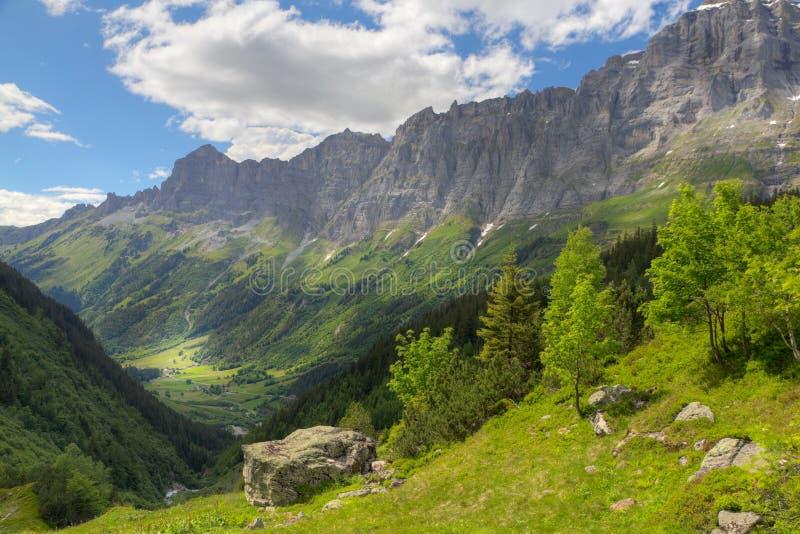 Switzerland mountains in summer