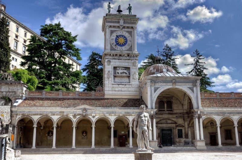 Swobody miejsca loggia San Giovanni zdjęcia stock