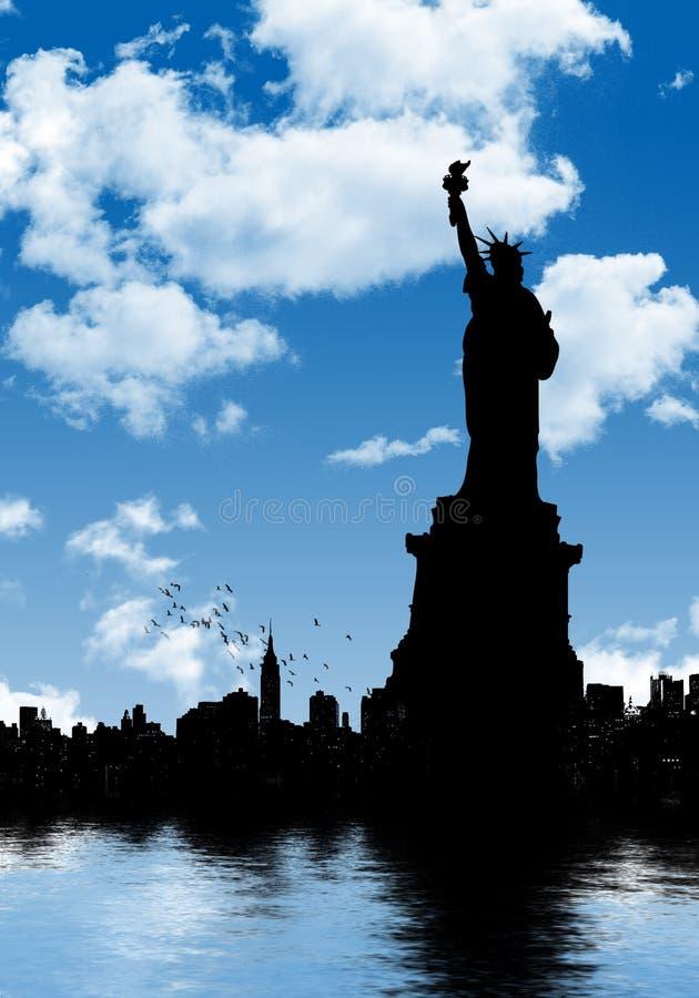 Download Swobody statua ilustracji. Ilustracja złożonej z dzień - 13339848
