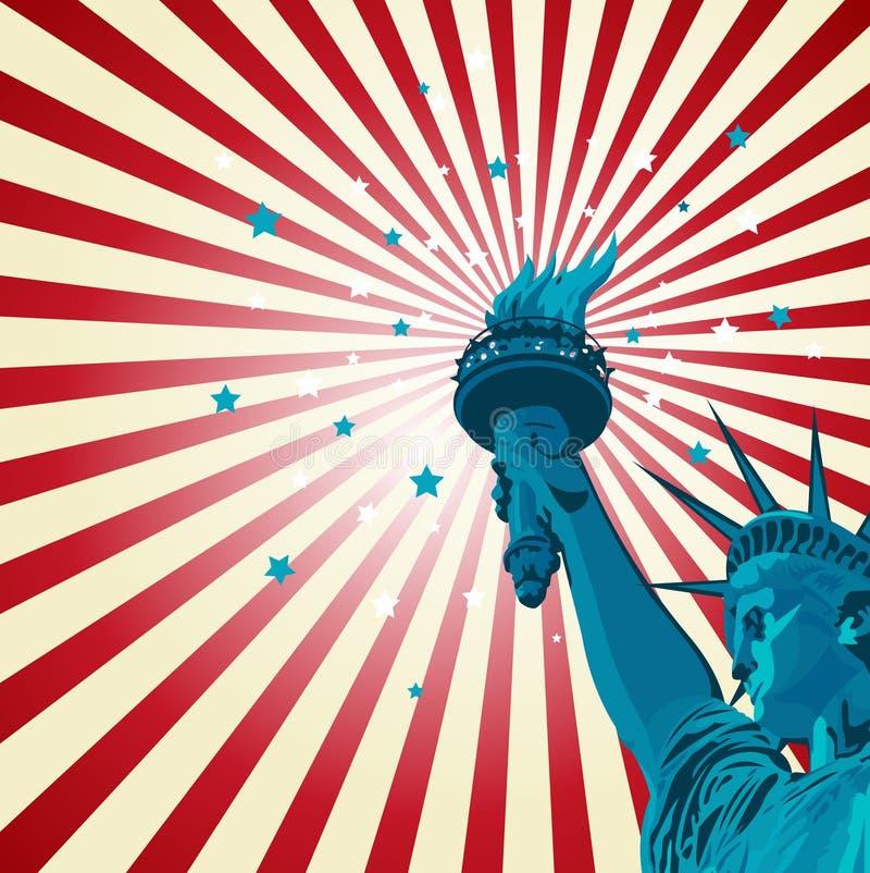 swobody statua ilustracji