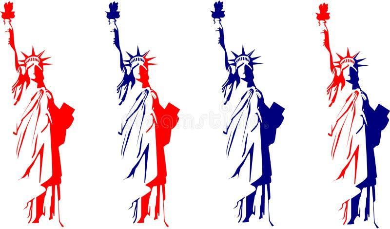 swobody statua ilustracja wektor