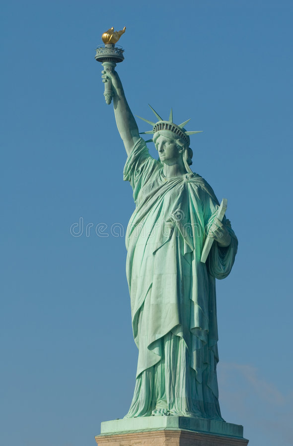 Swobody statua nowy York usa zdjęcia royalty free