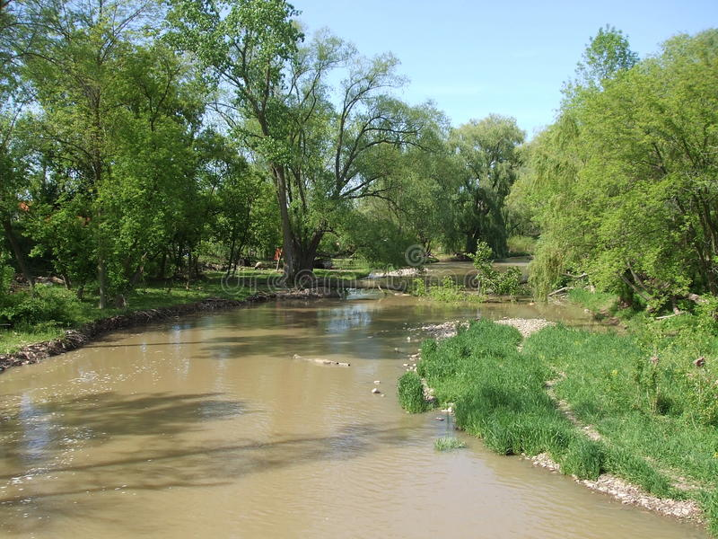 Swollen Creek Stock Photos