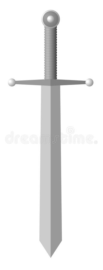 Download Sword stock vector. Image of handle, hilt, battle, steel - 14764415
