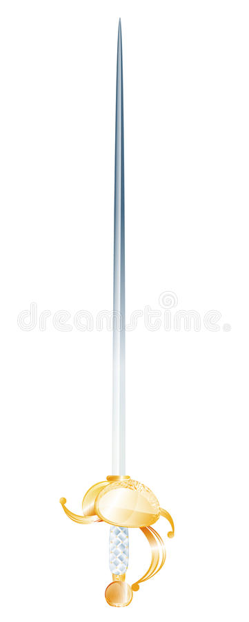 Download Sword stock vector. Illustration of obsolete, weapon - 21627398