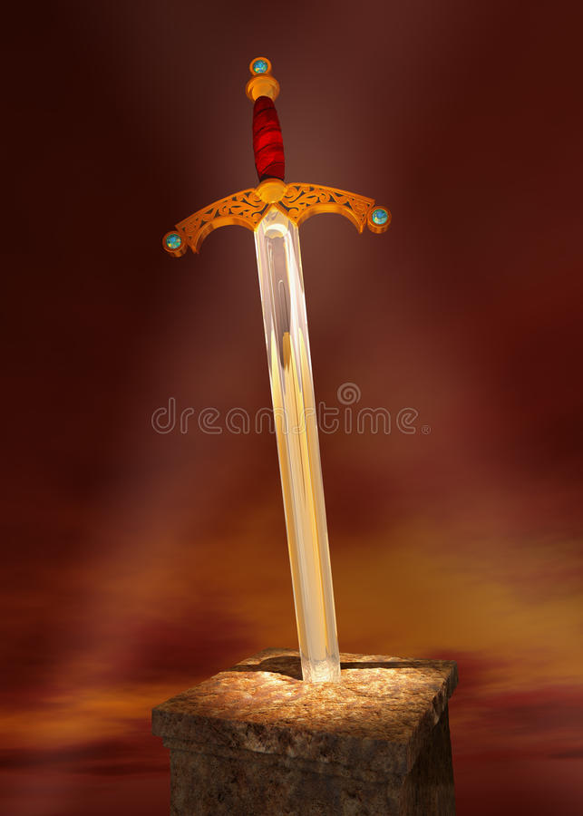 Sword royalty free illustration