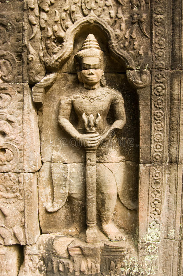 Download Sword Carrying Statue, Ta Som, Angkor Stock Photos - Image: 25117893