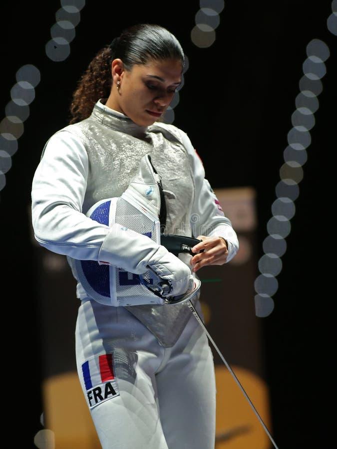 Sword FIE Fencing Grand Prix 2020 - Inalpi Trophy - Finals royalty free stock photos