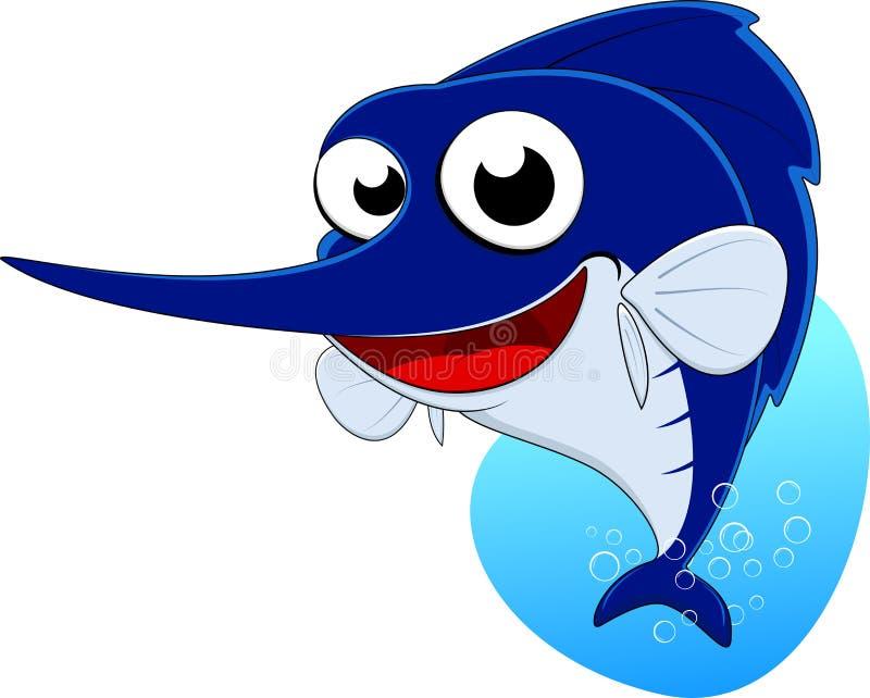 Download Sword Fish , Blue Marlin Fish Stock Vector - Illustration of face, funny: 29313055