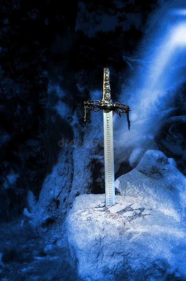 Excalibur royalty free stock photos