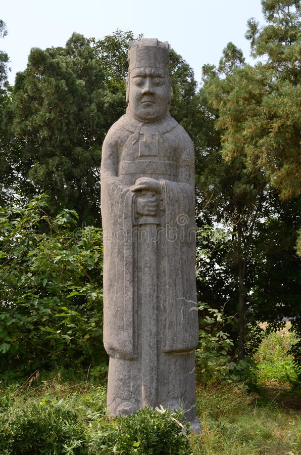 Download Sword Standing Guard Statue At Song Dynasty Tombs, China Stock Photo - Image: 34963812