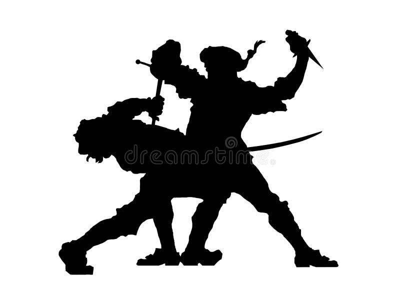 Swordfight Foto de Stock