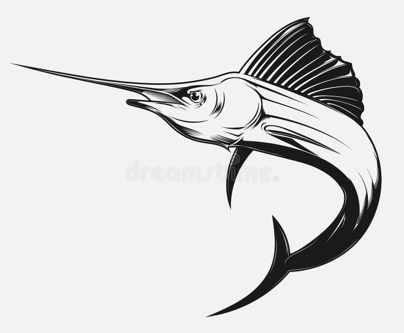 swordfish ilustracja wektor