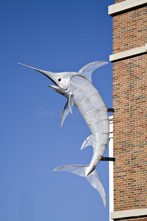 Swordfish sign stock photography