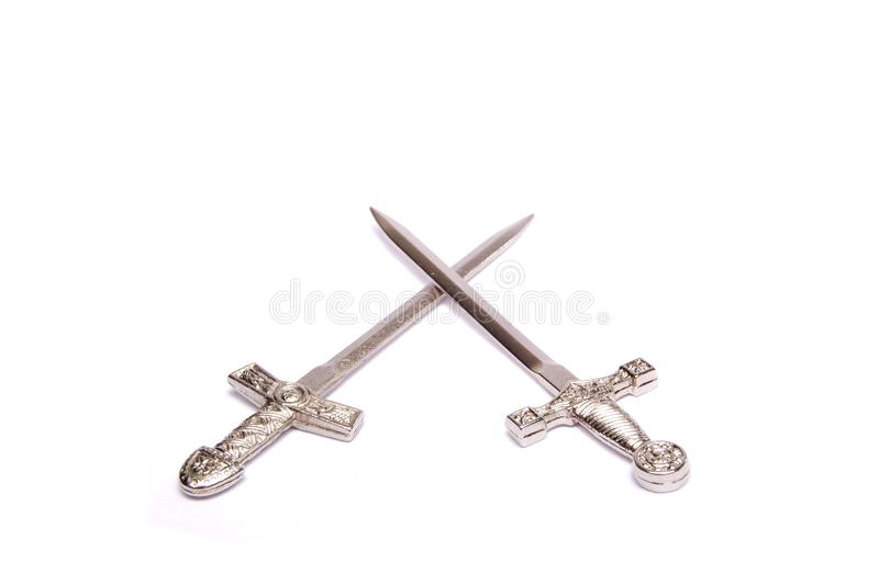 Swords royalty free stock image