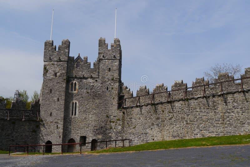 Swords Castle Dublin Ireland stock images