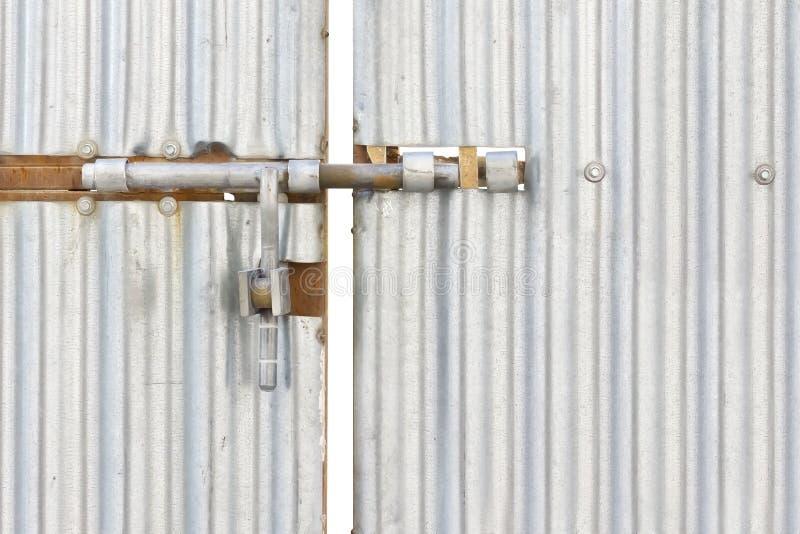 Sworzniowy drzwi zdjęcia stock