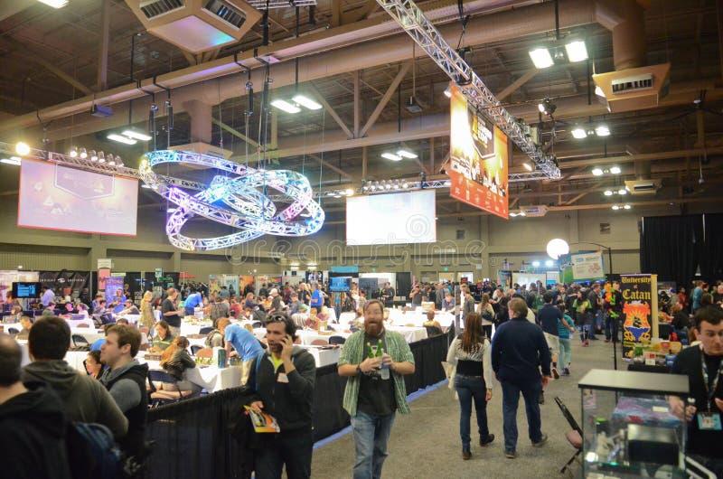 SXSW节日2014年赌博商展 免版税库存照片