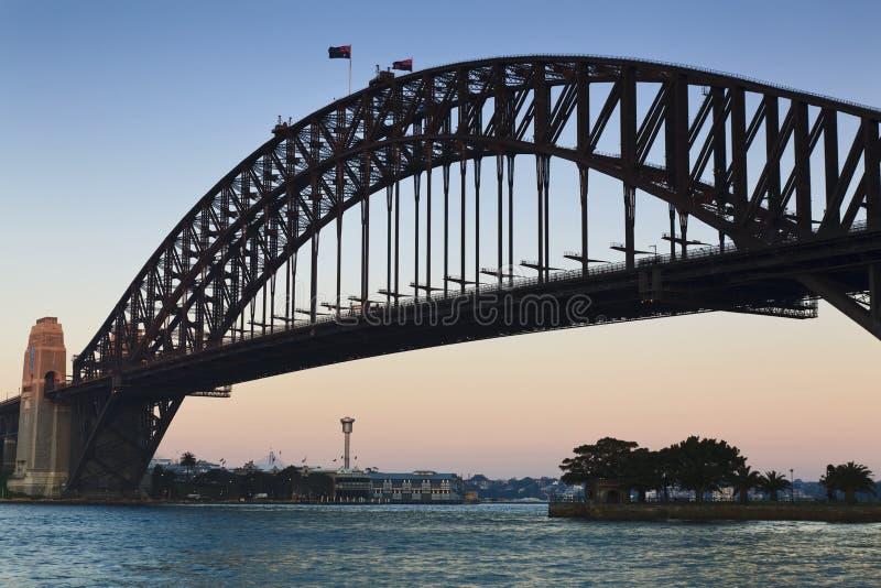 Sy Bridge Sunrise stock images
