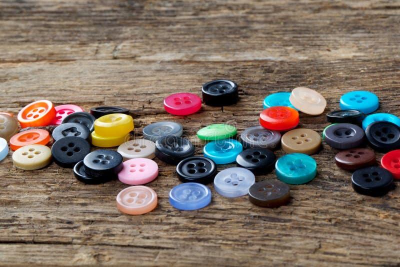 sy för knappar arkivfoton