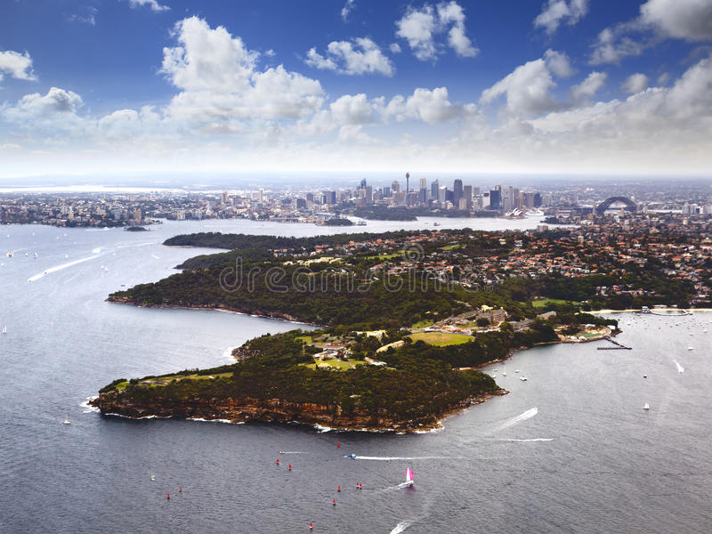 Download Sy Heli Middle Head CBD stock image. Image of horizontal - 24942921