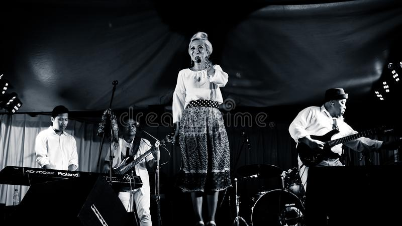 Syaharani, Jazz Musicians imagens de stock