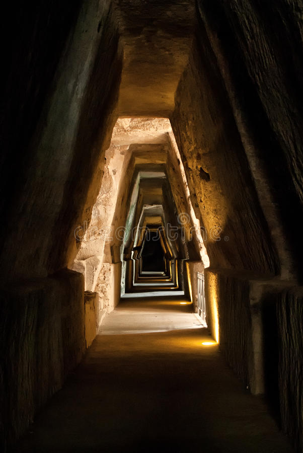 sybil подземелья стоковое изображение rf