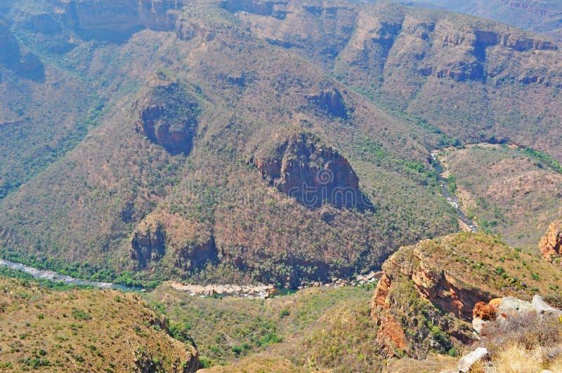 Sydafrika som är östlig, Mpumalanga landskap arkivbild