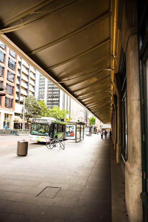 Sydeny-Bus lizenzfreie stockbilder