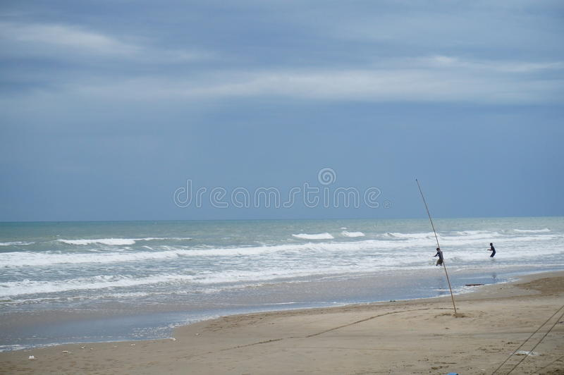 Sydkinesiska havet arkivfoton