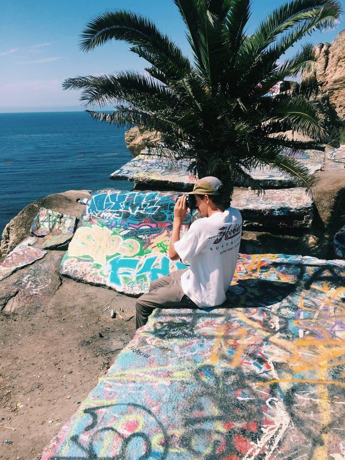 sydlig Kalifornien kust royaltyfria foton