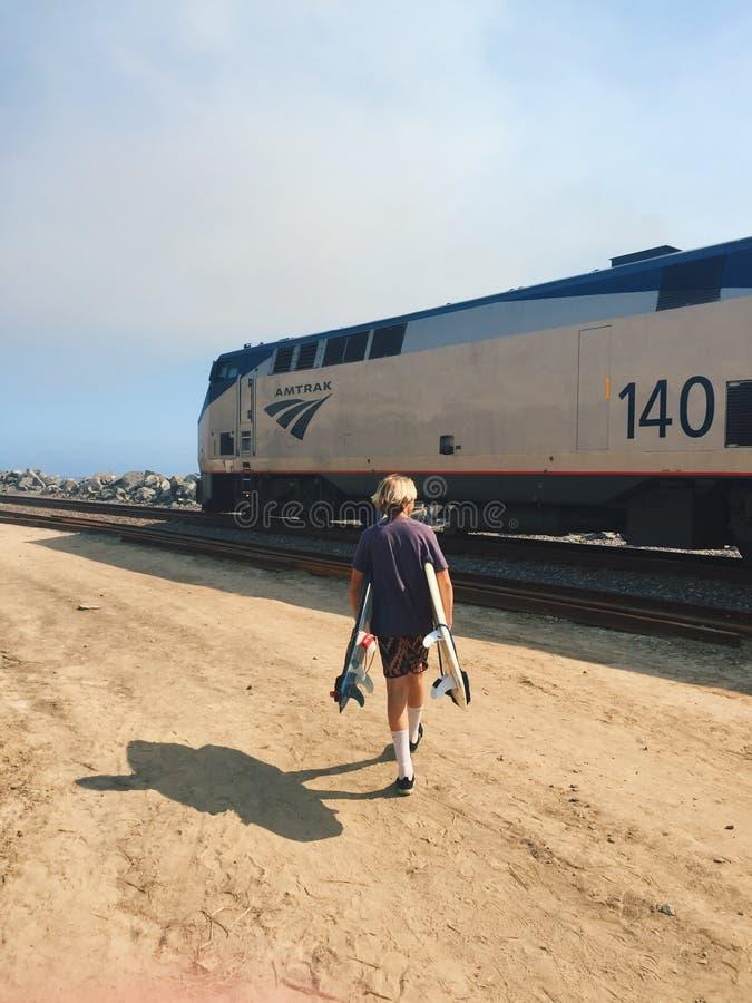 sydlig Kalifornien kust fotografering för bildbyråer